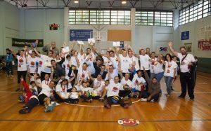 +QueBasket Baloncesto e integración patrocinado por Kern Pharma