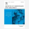 Archives of Gerontology and Geriatrics Mayo-Junio